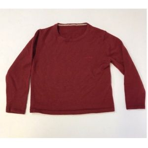 Boys Come Ca Du Mode Japanese Fashion Maroon Red